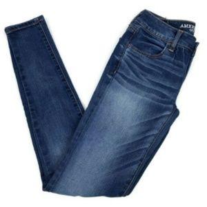 American Eagle 2 Long Jeggings Skinny Jeans
